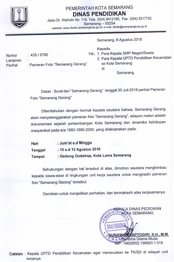 Pameran Foto Semarang Gerang