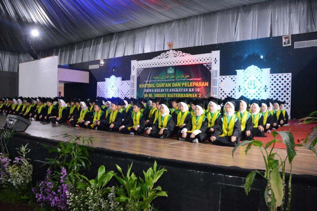 Khotmil Qur'an dan Pelepasan Siswa-Siswi Kelas 6 Angkatan Ke-18 Tahun 2019