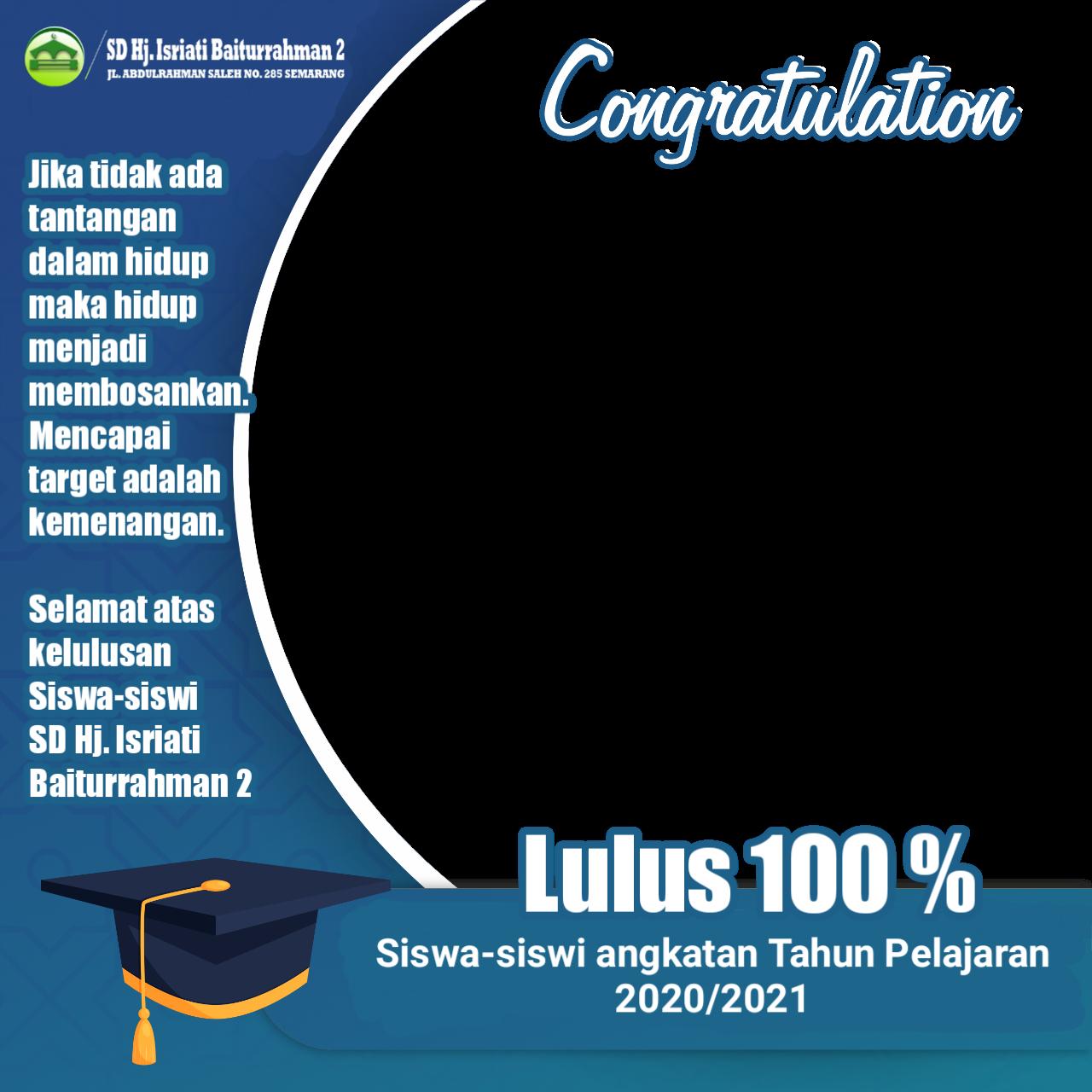 Lulus 100 %